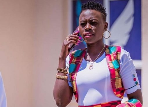 Akothee on the phone