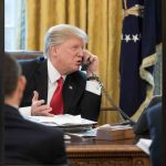 Donald Trump praised the governors on conference call