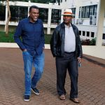 George Kinoti with Noordin Haji in the past