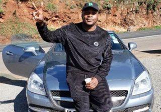 Jalang'o's exotic Mercedes-Benz car vandalised on Mombasa road