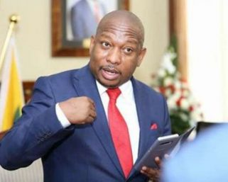 Mike Sonko pays child support to the officer who arrested him