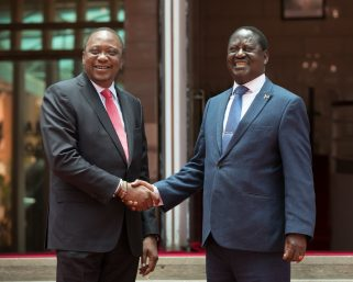 Forget UhuRuto bromance, Uhuru highly regards Raila Odinga