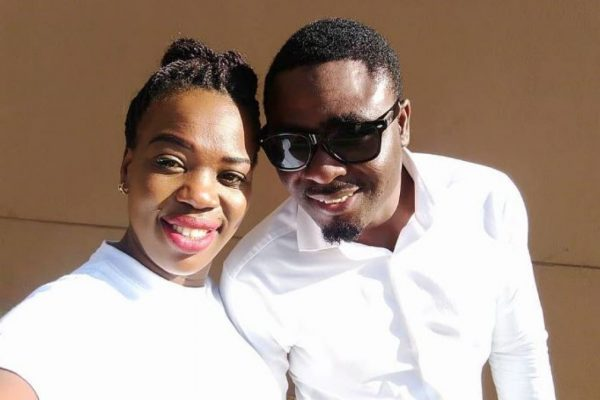 Ruth Matete with her late husband