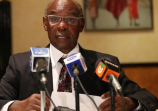 SK Macharia honours late son, John who died in emotional service