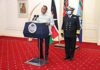 Breaking: Uhuru names Lt. Gen Robert Kibochi as Chief of Defence Forces designate
