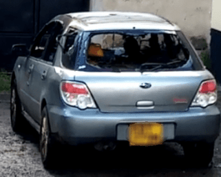 Man burns alive inside his car in Buru Buru over alleged altercation with wife
