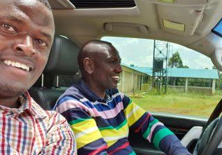 Ndindi Nyoro says he won't leave William Ruto's side