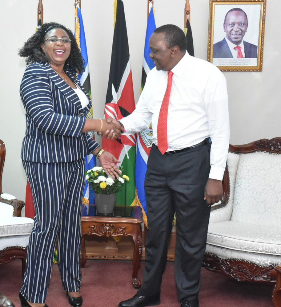 Aisha Jumwa emerges after long silence lecturing Uhuru and Raila for fighting women