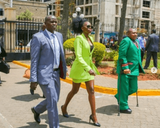 Women are the ones who had a problem with my dress! Akothee narrates