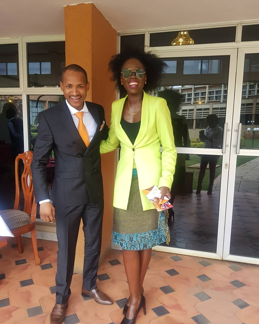 Akothee-in-parliament-with-Babu-Owino