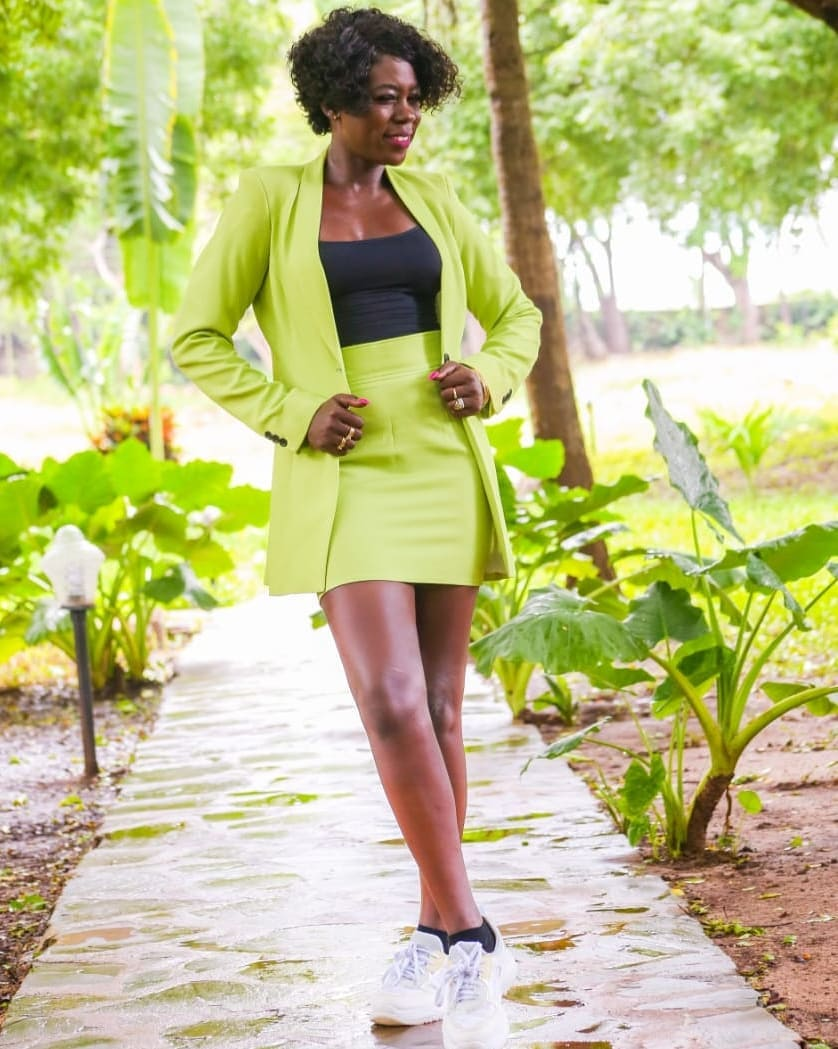 Akothee outfit