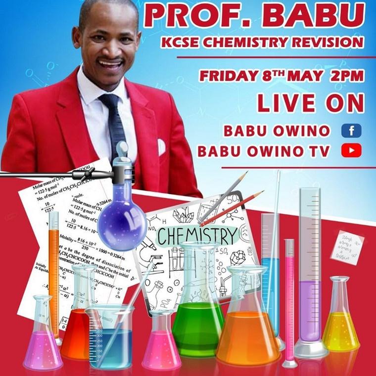 Babu Owino poster
