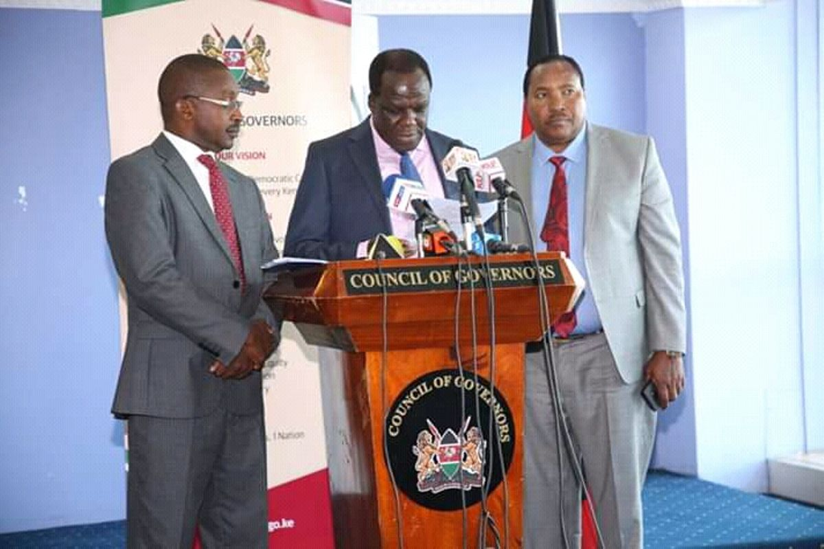 Council of Governors threaten to cut Kenyans water connections over non-payment
