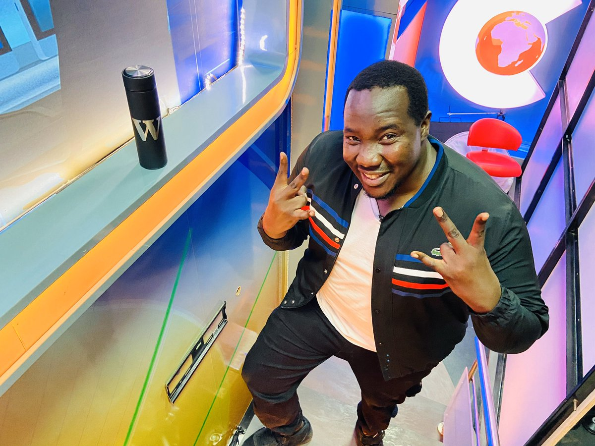 Willis Raburu has nothing to say about his alleged sidechick