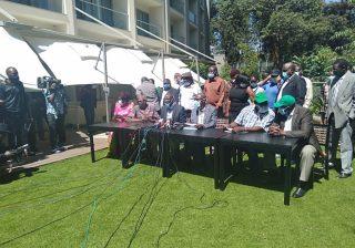 BREAKING!! Moses Wetangula Removed as Ford Kenya Leader