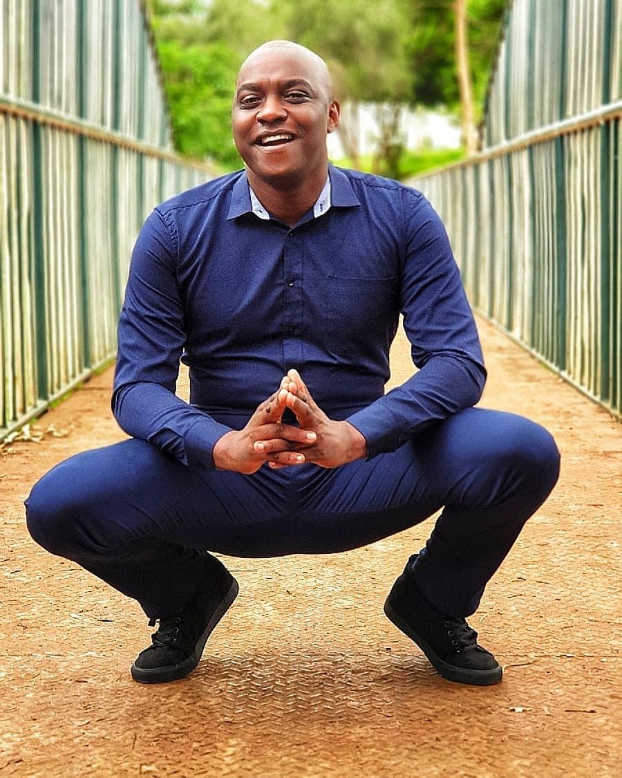 Eric Njoka smiling