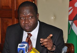 Fred Matiang'i-We will forcefully evict Kenyans from their homes