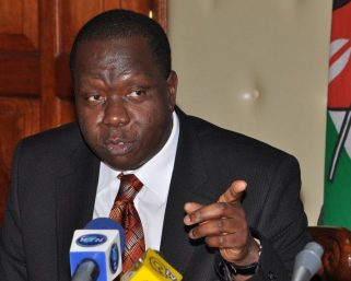 We will deal with rogue officers! Matiang'i declares in secret meeting