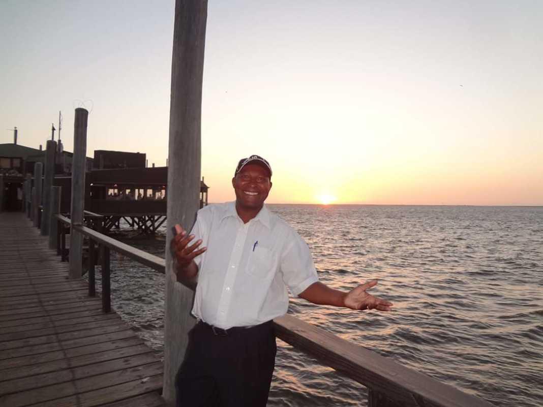 Jimmy Wayuni smiling