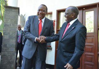 Uhuru sends conciliatory message to Magufuli after border fight