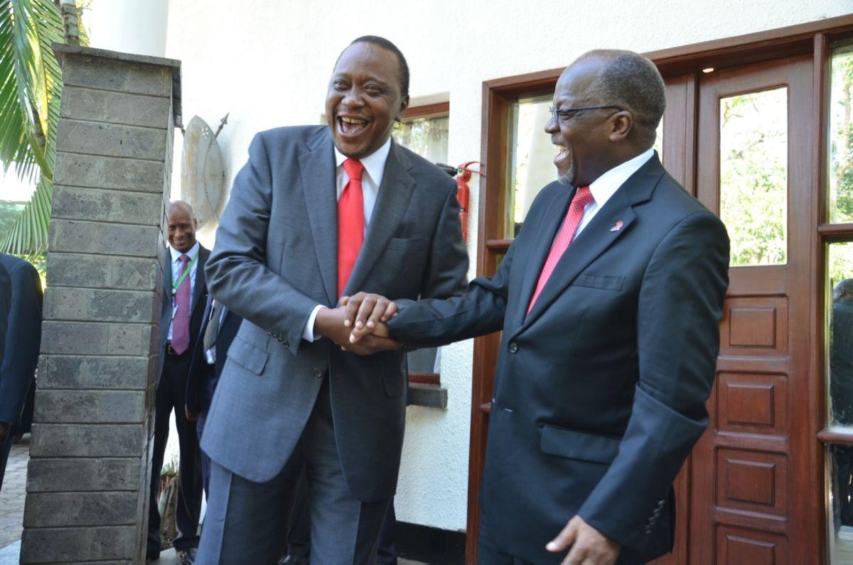 Magufuli pokes fun at Uhuru's order to close borders