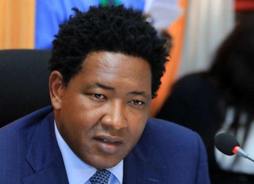 Narok County SenatorLedamaOleKina./File