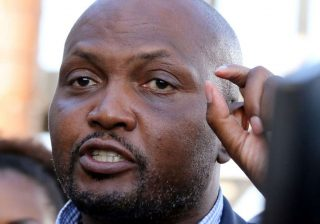 Moses Kuria complains after he was forced to leave burial service midway