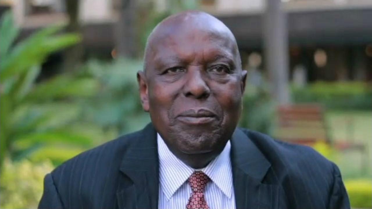 Njenga Karume in a file photo