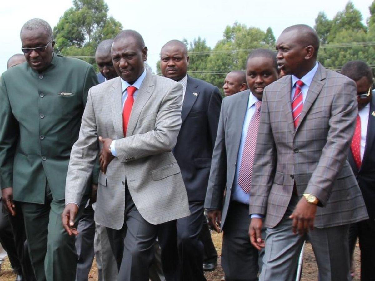 Oscar Sudi with William Ruto