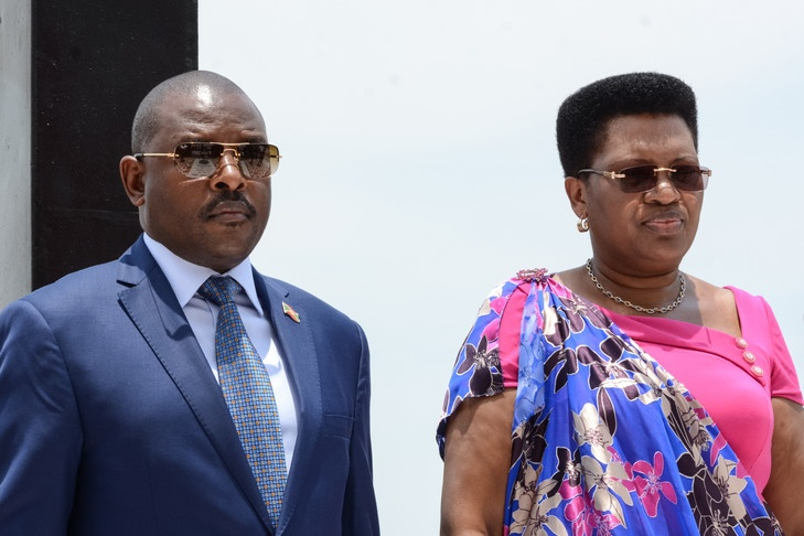 Burundi's first lady airlifted to Kenya after getting Covid-19