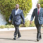 President Uhuru Kenyatta and Interior CS Fred Matiang'i