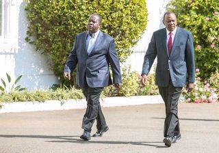 Uhuru Kenyatta personally sends Matiang'i to Eastleigh after lockdown uproar