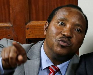 Waititu cries after his property get repossessed by the government