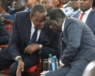 Raila; I Am In No Deal With Uhuru About 'Nusu Mkate'