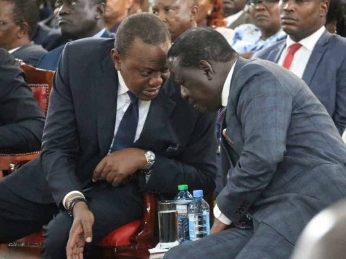 Uhuru met with Raila and all 51 senators before Kindiki impeachment