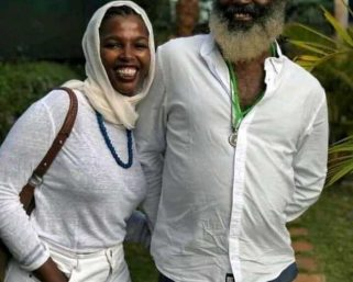 The Keroche family approved of her relationship and conversion to Muslim – Omar's close relative