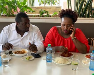 Terence Creative and wife Milly Chebby come out to deny claims of marital violence