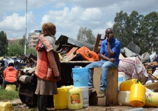 Over 8K Kariobangi residents left homeless after government demolitions