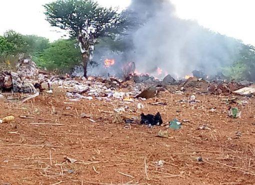 The Kenyan plane that was shot down