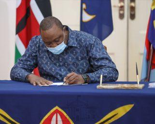 President Uhuru Typical Day