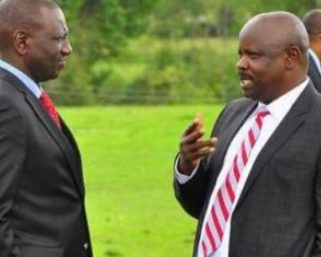 Isaac Ruto mocks William Ruto after he moved to join Uhuru ranks