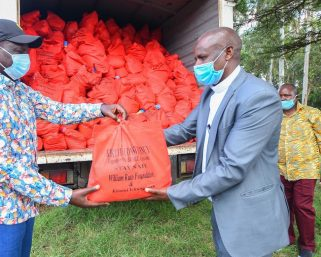 William Ruto's food donation lands family into hospital over food poison