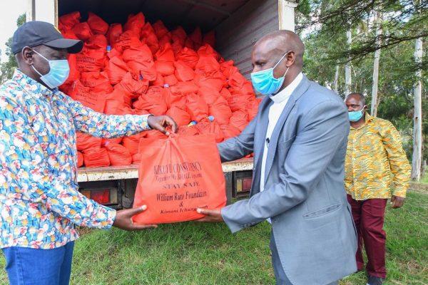 William Ruto in Kiambu