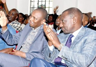 Kimani Ichung'wah and Ruto come out to deny poisoned food donation