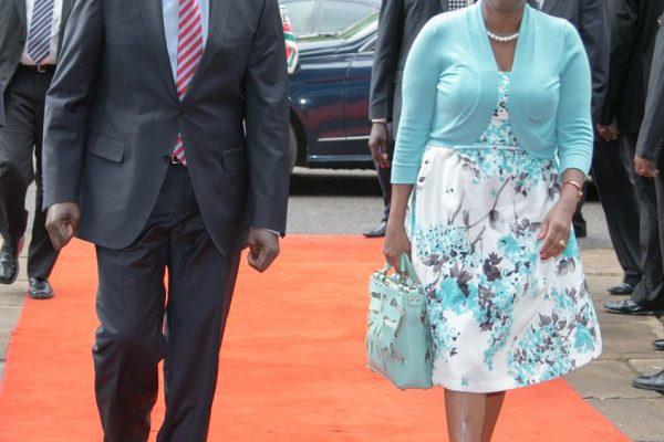 William Ruto with Rachel Ruto