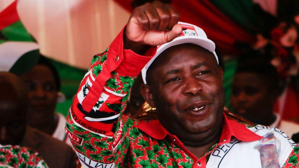 Evariste Ndayishimiye Sworn In As Burundi's President