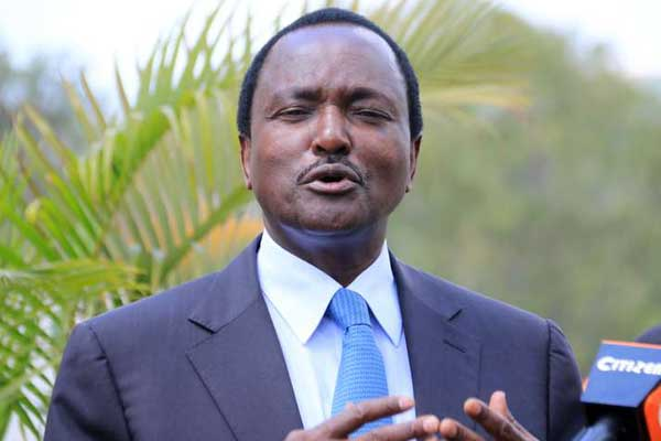 Kalonzo's Bodyguard Attacked, Robbed Of His Gun