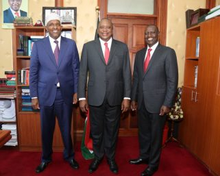 William Ruto saved Aden Duale from getting fired