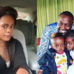 Betty Bayo with Victor Kanyari and their kids