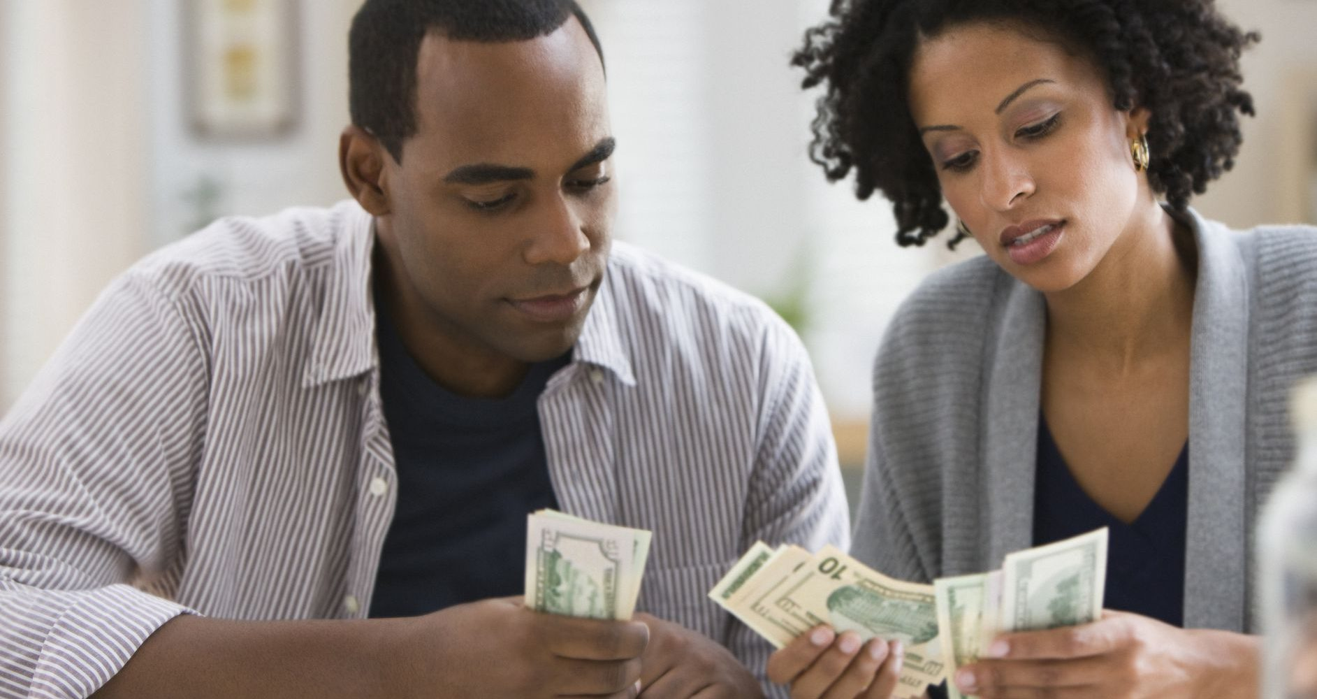 Ladies! Support a man financially at your own risk.